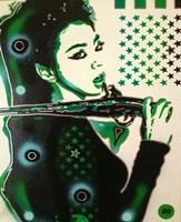 Asia Green Fine Art Print
