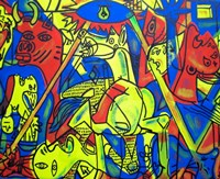 Guernica Graffiti Fine Art Print