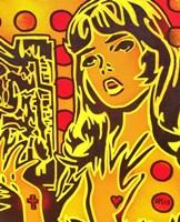 Comic Girl Fine Art Print