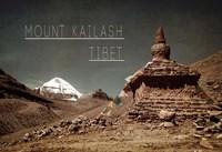 Vintage Mount Kailash, Tibet, Asia Fine Art Print