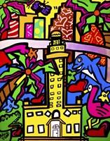Miami the Magic City Fine Art Print