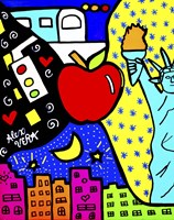 New York Collage Fine Art Print