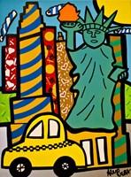 Statue of Liberty Pops Fine Art Print