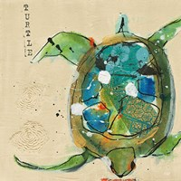 Chentes Turtle Light Fine Art Print