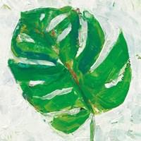 Single Leaf Play II Fine Art Print