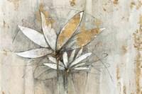 Windflowers Gold Fine Art Print