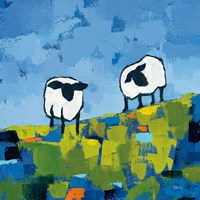 Two Sheep Fine Art Print
