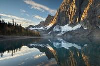 Floe Lake Reflection III Framed Print