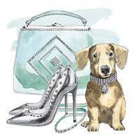 Glamour Pups III Fine Art Print