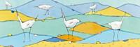 Marsh Egrets I Fine Art Print