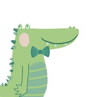 Alvin the Alligator Fine Art Print