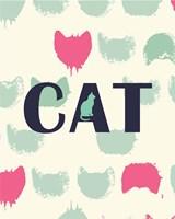 Cat Heads Fine Art Print