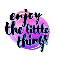 Enjoy the Little Things 3 Fine Art Print