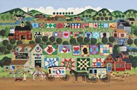 Quilt Valley Farm Fine Art Print
