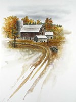 Winter on the Farm Fine Art Print