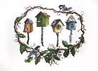 Bird Houses Fine Art Print