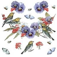 Warblers Fine Art Print