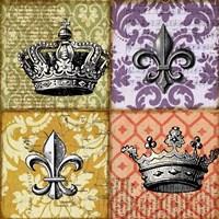 Crown and Fleur Fine Art Print