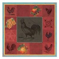 Rooster Melange Fine Art Print