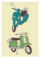 Scooter I Fine Art Print