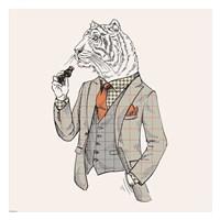Tiger-man Fine Art Print