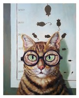 Feline Cat Exam Fine Art Print