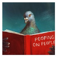 Pooping on People Fine Art Print