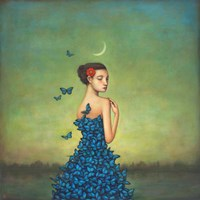 Metamorphosis in Blue Fine Art Print