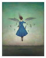 Swift Encounter Fine Art Print