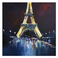 Eiffel Rain Fine Art Print