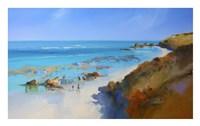 On the Back Beach, Sorrento Fine Art Print