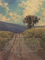 Living Life - Path Fine Art Print