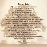 Living Life Bonnie Mohr Quote Gorgeous Bonnie Mohr Wall Art And Prints  Fulcrumgallery