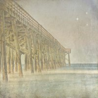 Twilight Pier II Fine Art Print