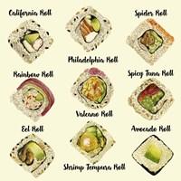Sushi II Fine Art Print