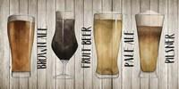 Beer Chart I Fine Art Print