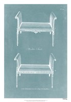 Design for a Window Seat II Fine Art Print