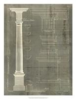 Column Blueprint IV Fine Art Print
