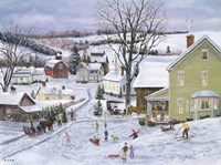 Preparing for Christmas Fine Art Print