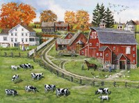 Our Dairy Farm Fine Art Print