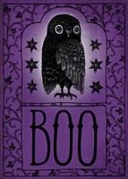 Vintage Halloween Boo Fine Art Print