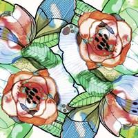 Fantasy Flowers Fine Art Print