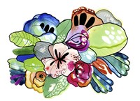 Flower Island Fine Art Print