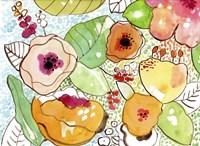 Organic Flowers Fine Art Print