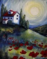 Summer House Fine Art Print