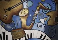 Musical Mural Fine Art Print
