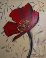 Single Red Poppy Fine Art Print