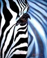 Zebra Face Fine Art Print