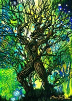 Tree Of Life - Primordial Soup Fine Art Print