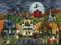 Spooky Street Fine Art Print